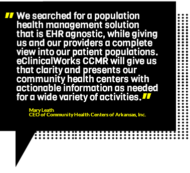 Mary Leath on eClinicalWorks