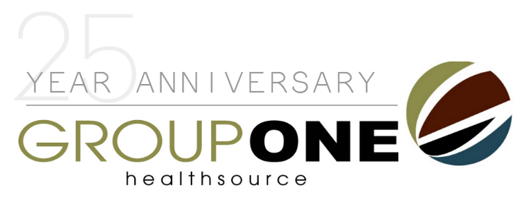 GroupOne Health Source Celebrating 25 Years
