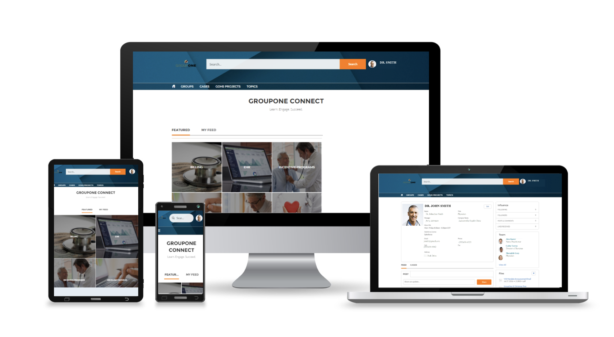 GroupOne CONNECT Customer Portal
