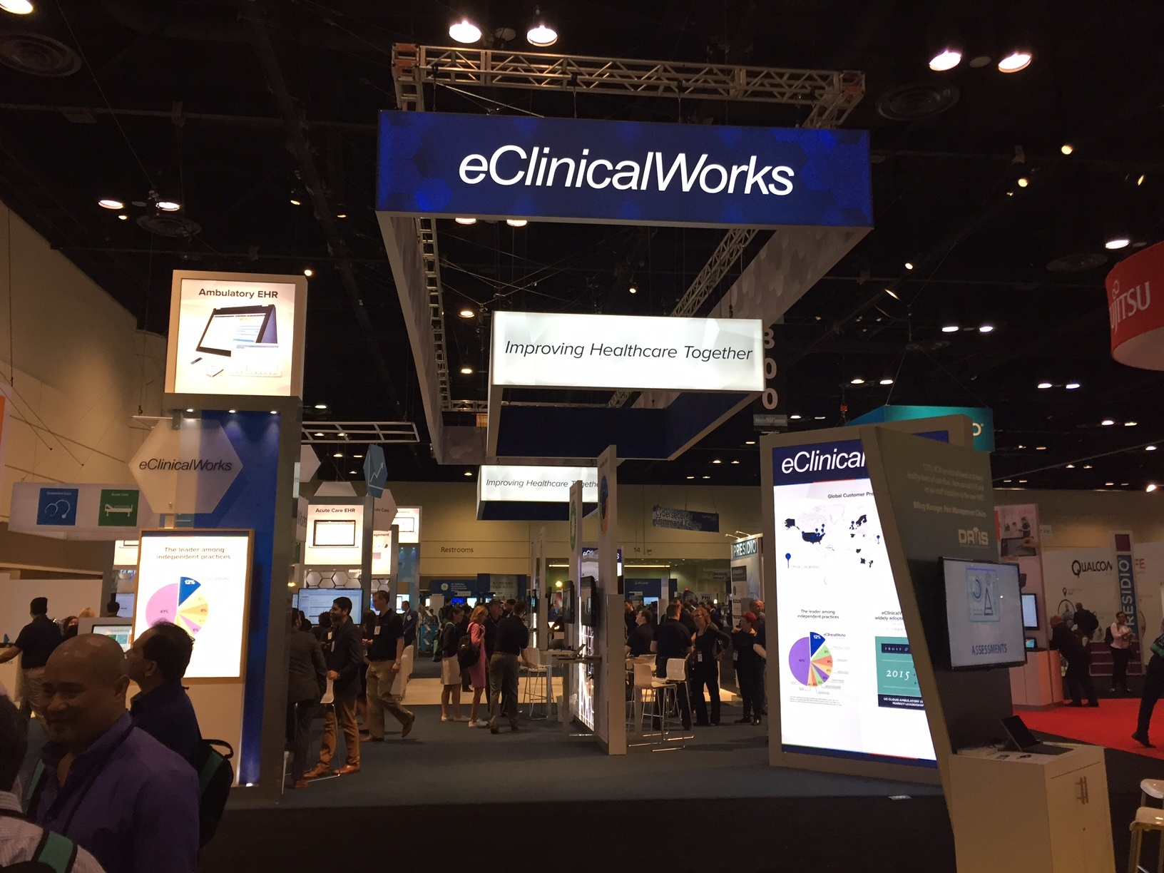 eClinicalWorks EHR at HIMSS17
