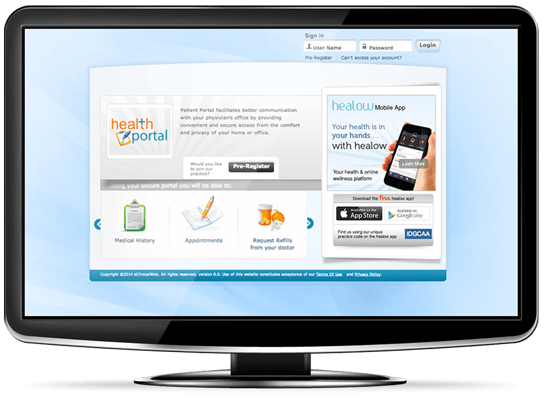 eClinicalWorks Patient Portal