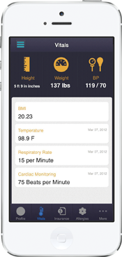 eClinicalWorks healow app for physicians