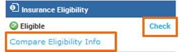 Insurance Eligibility in eClinicalWorks EHR