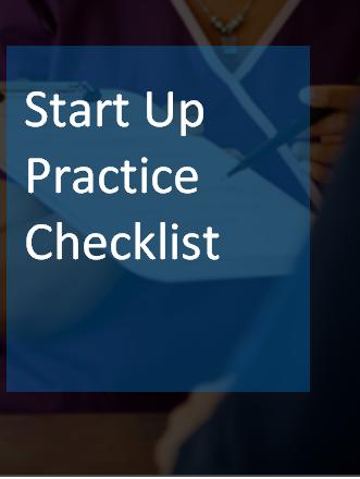 Medical Practice Start Up Checklist