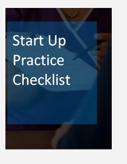 Start Up Practice Checklist