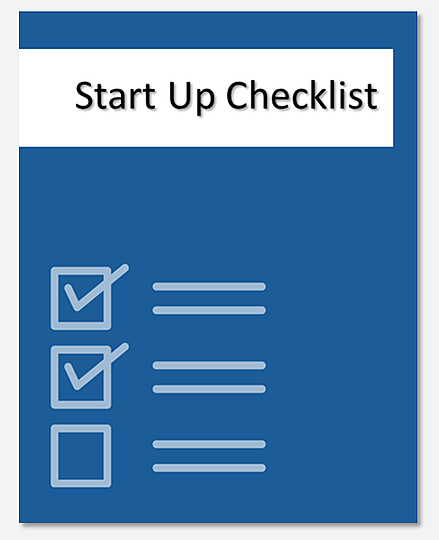 Medical Practice Start Up Checklist